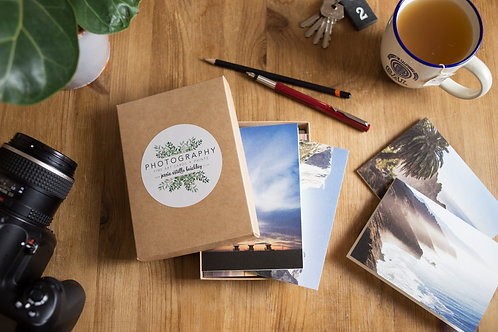 California Greeting Card Gift Box