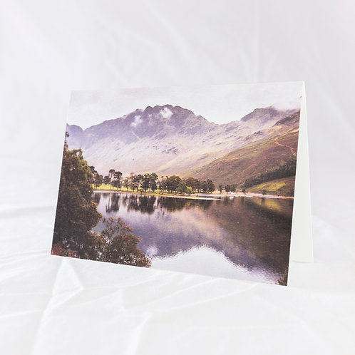 View Across Buttermere Greeting Card