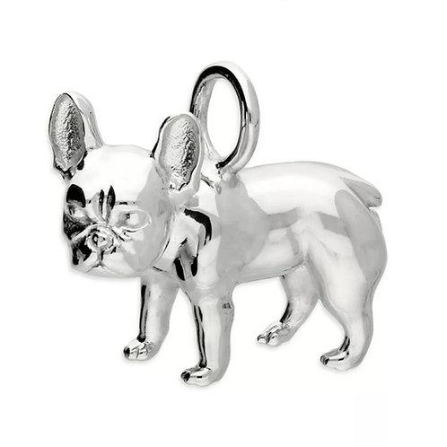 French Bulldog Sterling Silver 925 Pendant
