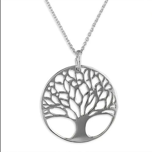 Tree Of Life Sterling Silver 925 Necklace