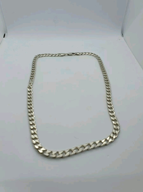 Sterling Silver 925, Curb Chain, 18inch, 30.13Grams