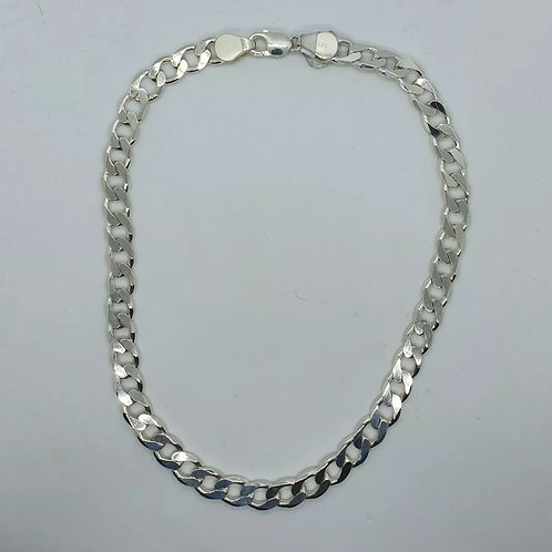 Sterling Silver 925, Curb Chain, 18inch, 57.73Grams