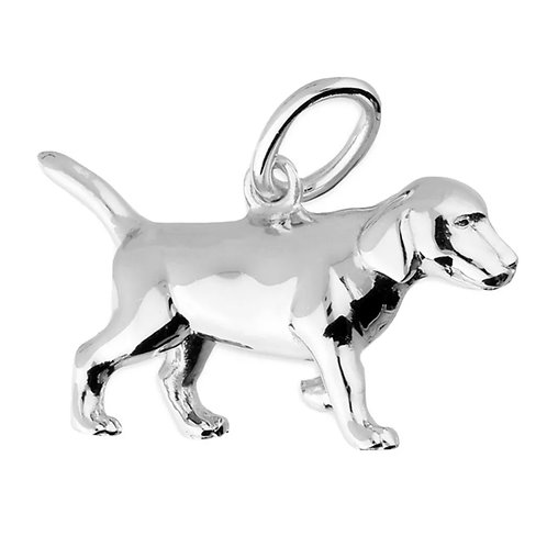 Puppy, Sterling Silver 925 Pendant