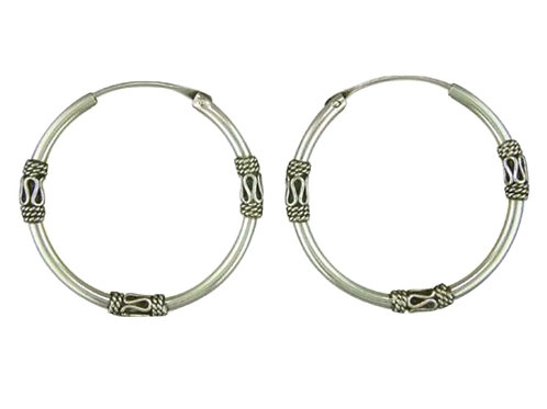 Sleepers, Sterling Silver 925, 16mm, Brand New