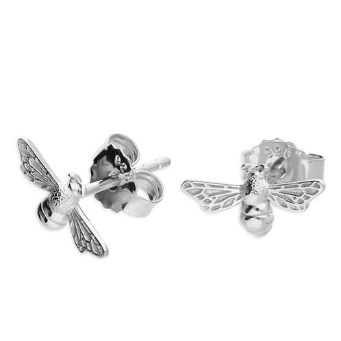 Bee, Sterling Silver 925 Studs