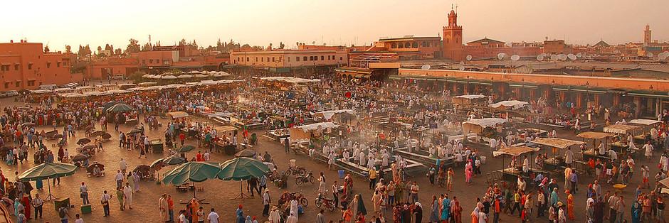 Buntes Marrakesch