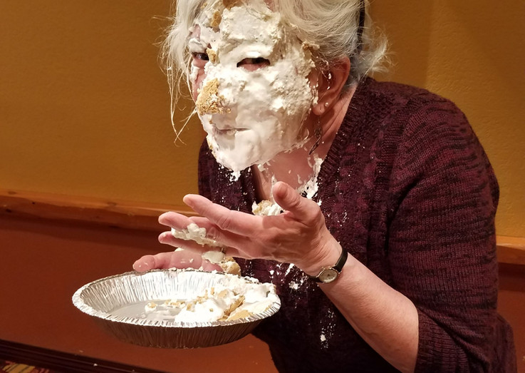 Pie in Face for AROW
