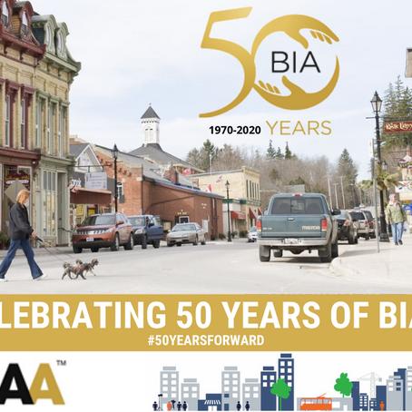 Celebrating 50 Years of BIAs!
