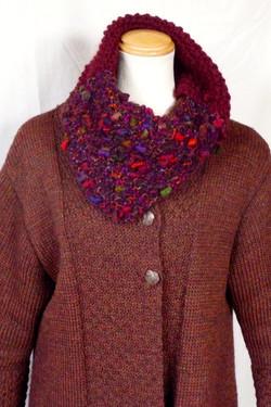 cowl & sweater