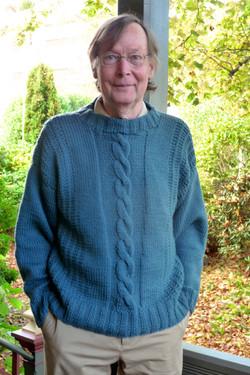 Robert's new sweater
