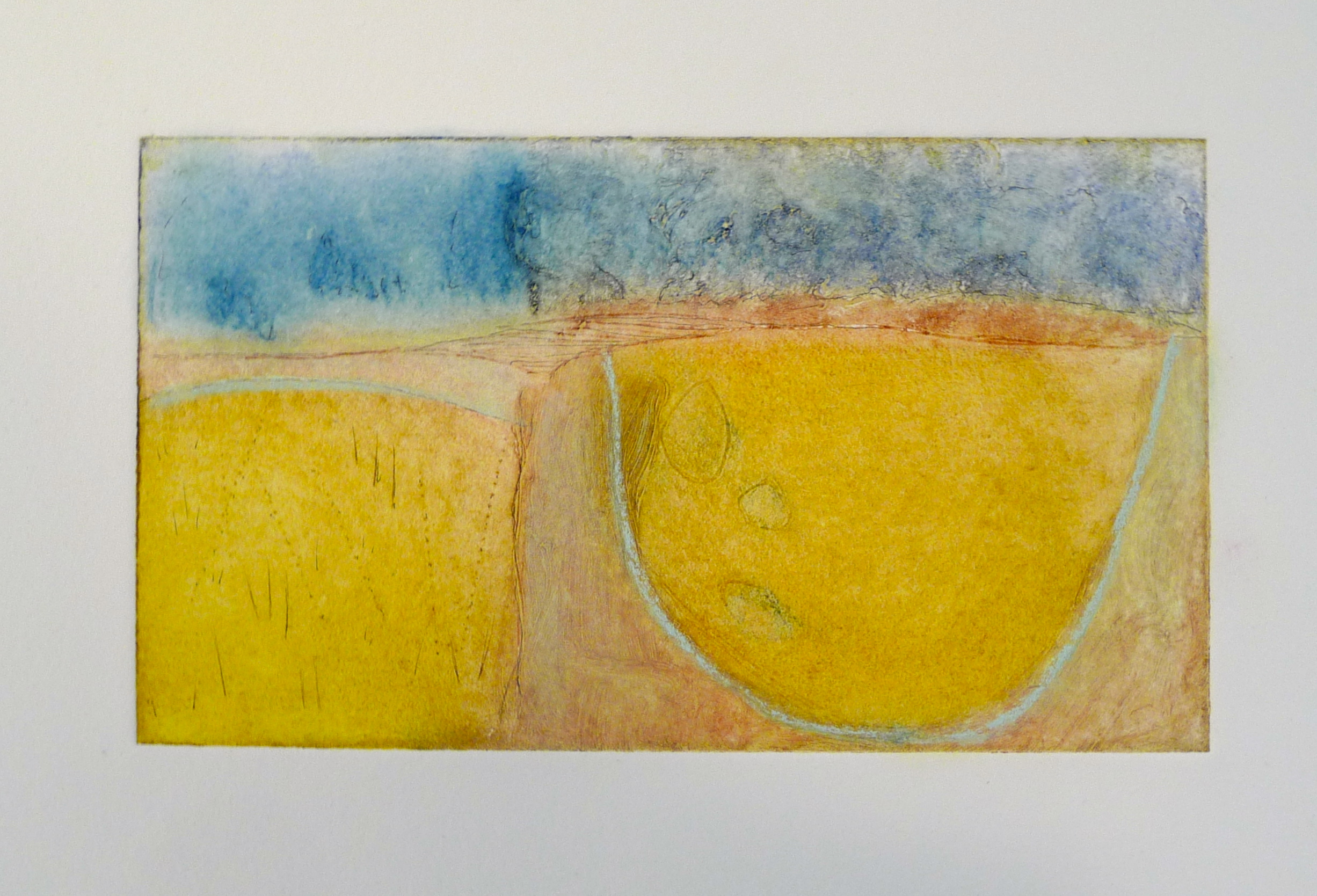 Indigo Basin; monotype
