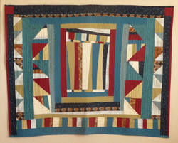 quilted hanging