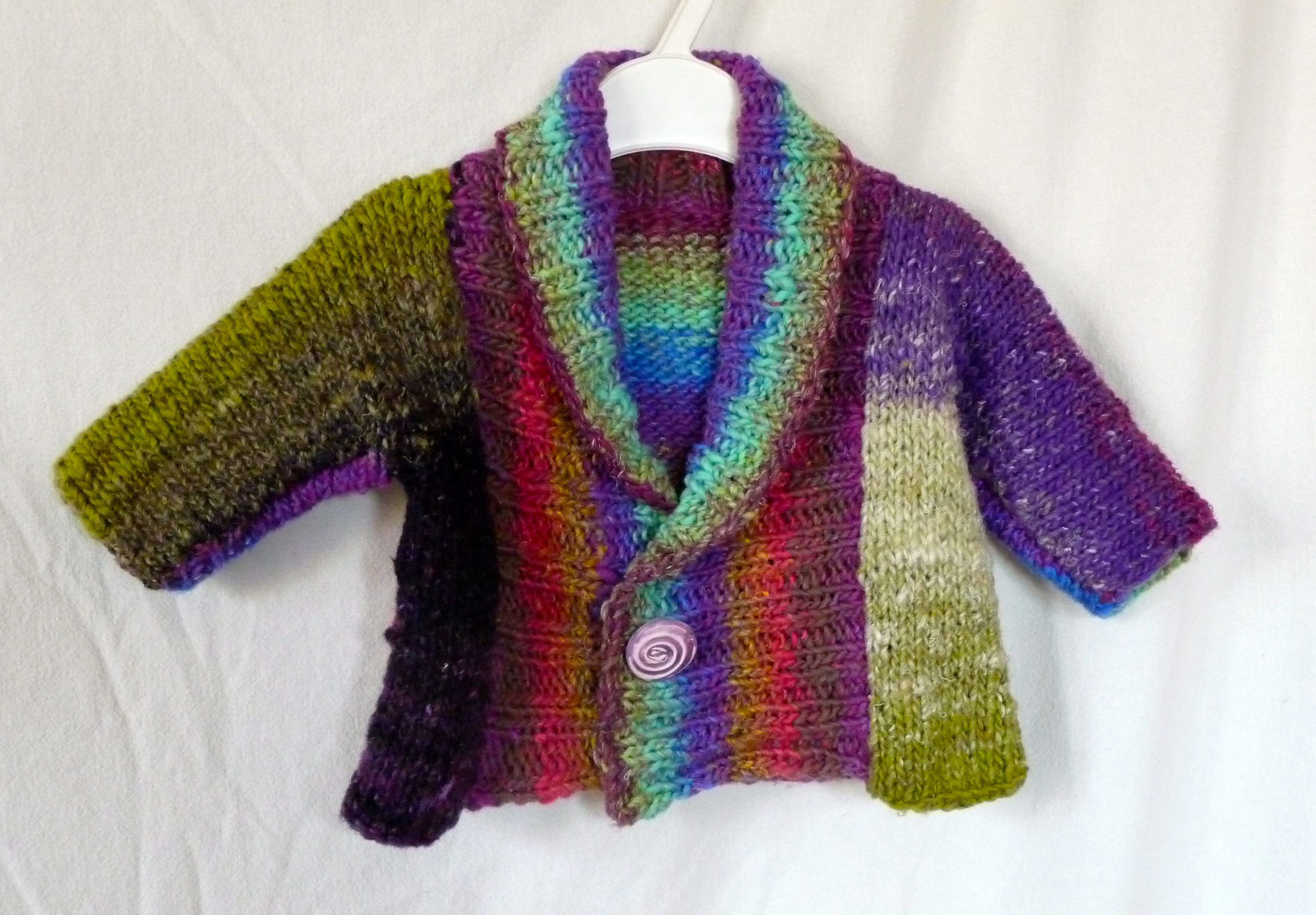 noro baby sweater