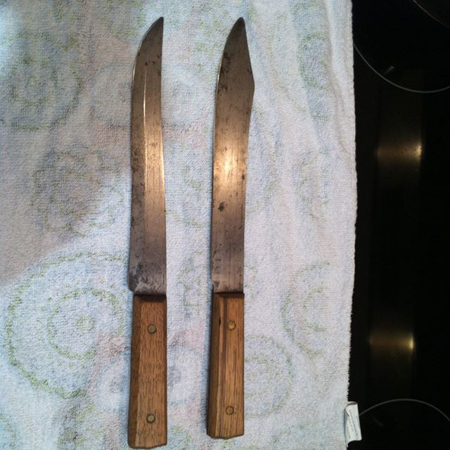 My first vintage knife restoration. @bri