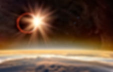 Solar Eclipse _Elements of this image fu