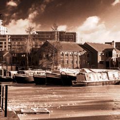Frozen Canal, Birmingham