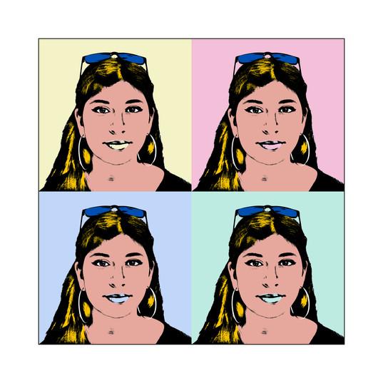 Girl, Warhol Style