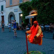Mystic Man Floating, Rome