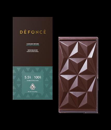 Defonce - Mint Milk Chocolate Bar (100mg THC)