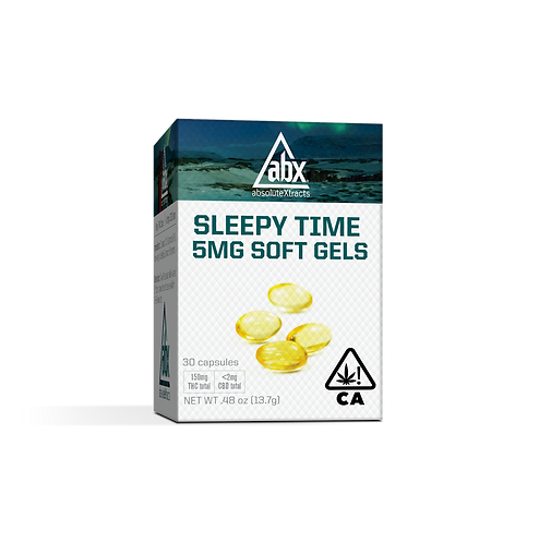 ABX - Sleepy Time - Softgels (30 Count) (150mg THC)