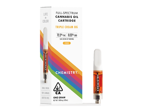Chemistry - Triple Cream OG (H) Cartridge (1 Gram)