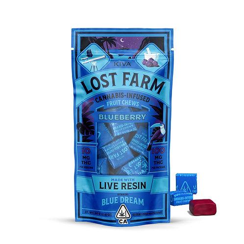Lost Farm - Blueberry Fruit Chews (100mg THC)
