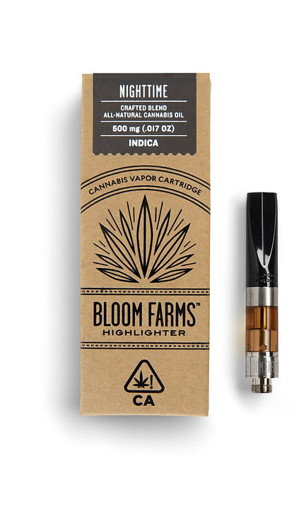 Bloom Farms - Highlighter Cartridge - Indica (1/2 Gram)