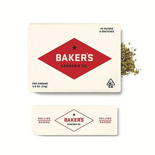 Baker's Cannabis - Rollex OG (I) Pre-Ground (1/2 Ounce)