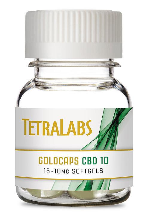 Tetralabs - CBD10 Softgels (150mg CBD)
