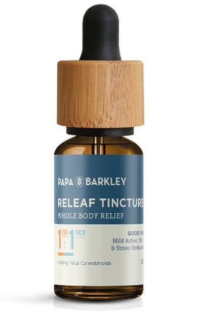 Papa & Barkley - 1:1 Releaf Tincture (450mg CBD : 450mg THC / 30ml)