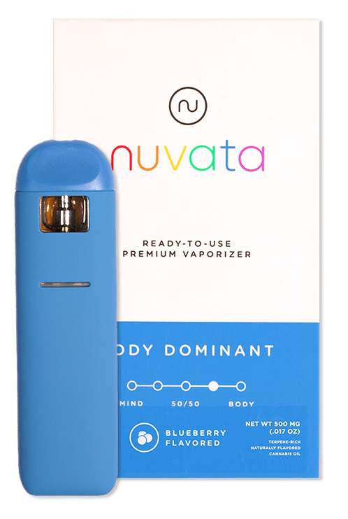Nuvata - Body Dominant - Blueberry (1/2 Gram)
