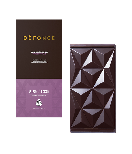 Defonce - Dark Chocolate Bar (100mg THC)