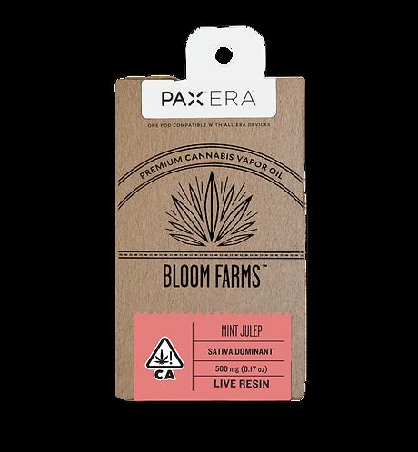 Bloom Farms - PAX Era Pod - Live Resin - Mint Julep (S) (1/2 Gram)