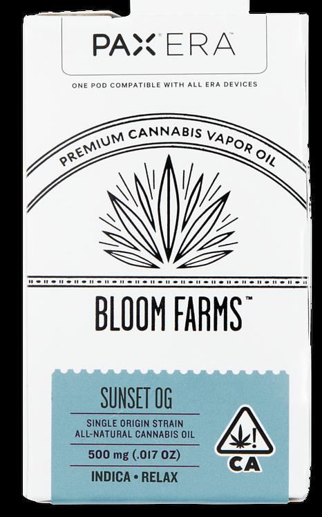 Bloom Farms - PAX Era Pod - Single Origin Indica (1/2 Gram)