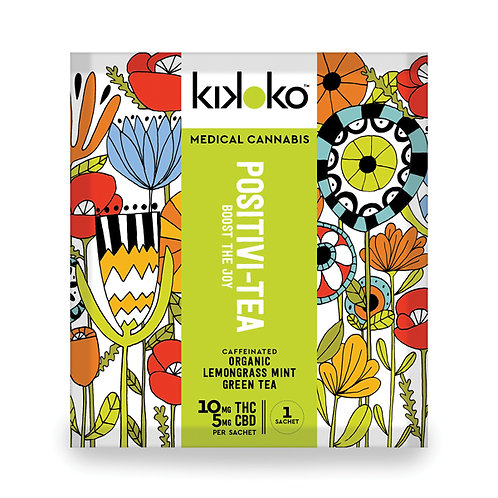Kikoko - Positivi-tea (Approx. 10mg THC + 5mg CBD)