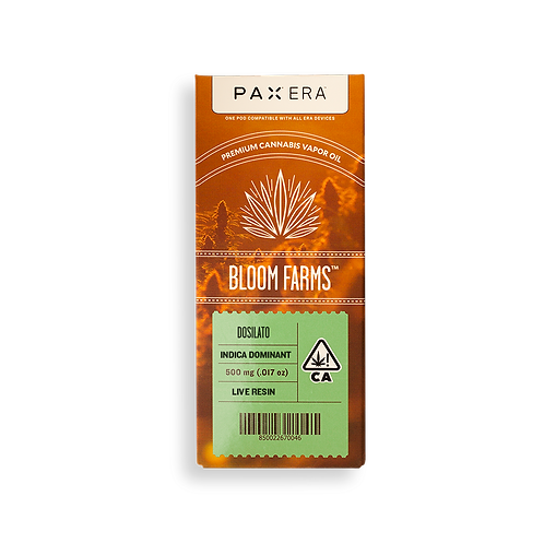 Bloom Farms - PAX Era Pod - Live Resin - Dosilato (I) (1/2 Gram)