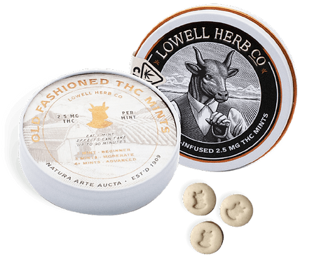 Lowell Farms - Old Fashioned Mints (100mg THC)