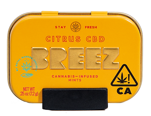 Breez - Citrus CBD Mints (200mg CBD)