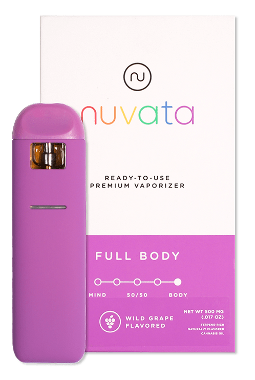 Nuvata - Full Body - Wild Grape (1/2 Gram)