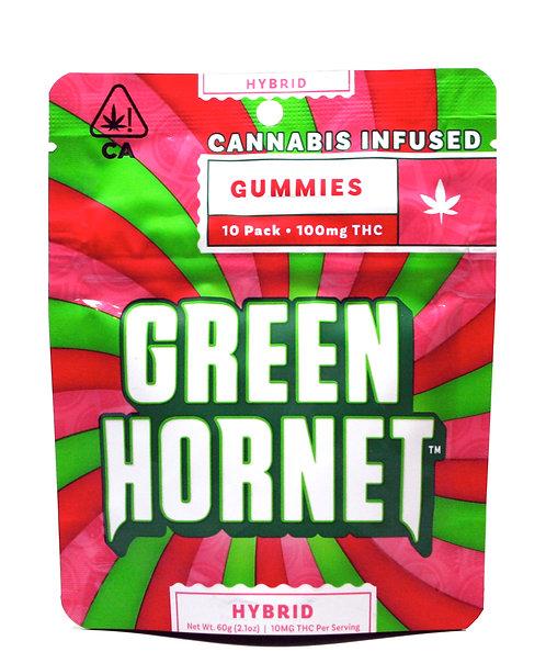 Green Hornet - Hybrid (100mg THC)