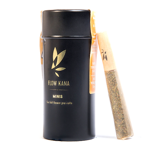 Flow Kana - Lemon Tree - Active (S) Mini Pre-Rolls (6 Rolls / 3.6 Grams)