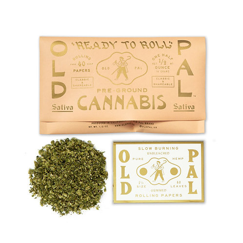 Old Pal - Golden Ticket (S) Pre-Ground (1/2 Ounce)