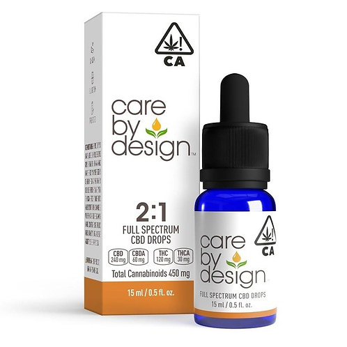 Care by Design - 2:1 CBD:THC Sublingual Drops (15 ml)
