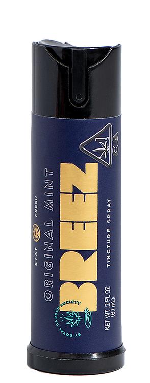 Breez - Original Mint Spray (250mg THC)