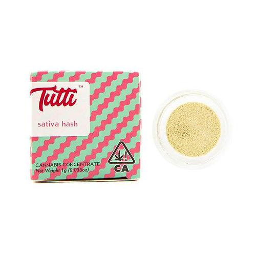Tutti - Sativa Hash (1 Gram)