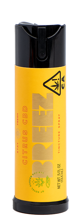 Breez - Citrus CBD Spray (1000mg CBD)