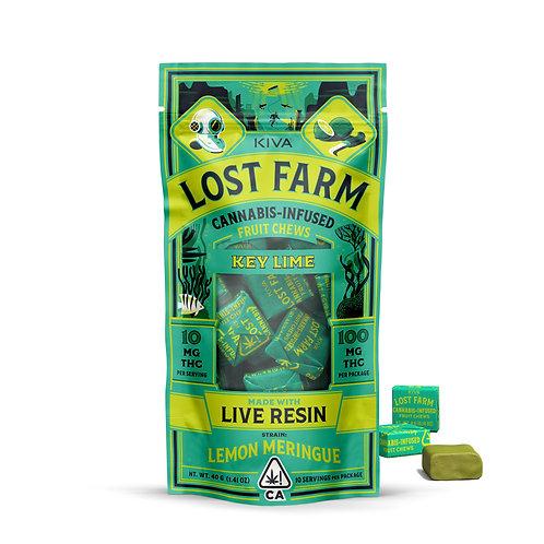 Lost Farm - Key Lime Chews (100mg THC)