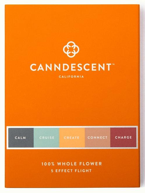 Canndescent - 5 Effect Pre-Roll Flight (5 Rolls / 3.75 Grams)