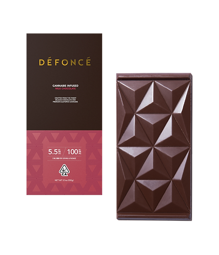 Defonce - Milk Chocolate Bar (100mg THC)