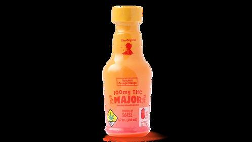 Major - Volcanic Orange Mango Drink (100mg THC)